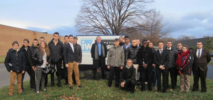 Twenty French Technical Apprentices Explore Injection Works