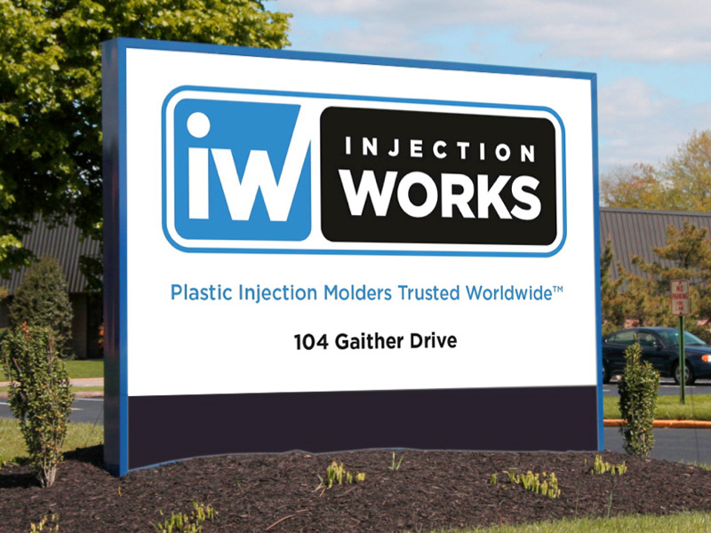Injection Works Sign