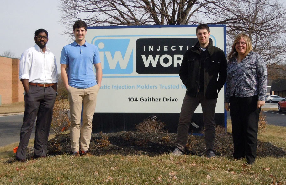 Injection Works hosts Drexel University Students developing improved ADA curb access transitions for Philadelphia