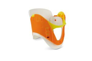 Cervical Collar, Orange with Foam, 4.25.15